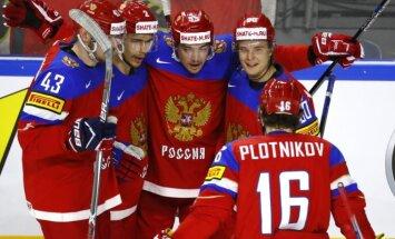 Rusijos ledo ritulio rinktinė