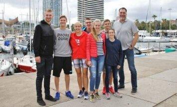 Lietuvos krepšinio talentai su Domantu ir Arvydu Saboniais