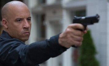Vin Diesel, kadras iš filmo Greiti ir įsiutę 8