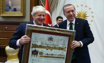 Borisas Johnsonas, Recepas Tayyipas Erdoganas