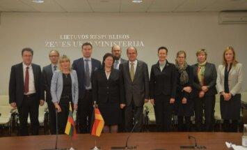 Lietuvoje lankėsi Vokietijos maisto ir žemės ūkio ministras