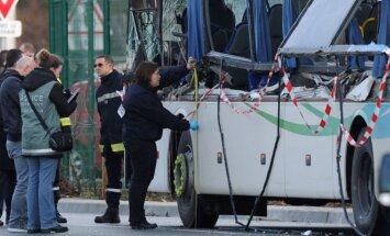 Autobuso avatrija (Asociatyvi nuotrauka)
