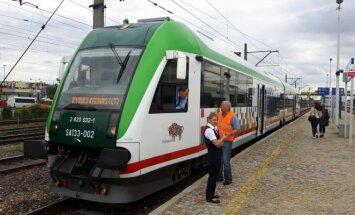 Traukinys Balstogė - Kaunas
