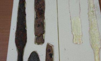 Archeologinis radinys, kurį bandyta pervežti į Austriją
