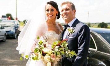 Katažinos Nemycko ir Deivydo Zvonkaus vestuvės