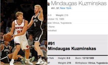 Amerikiečiai vis dar nežino, iš kur kilęs Mindaugas Kuzminskas
