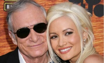 Hugh Hefneris ir Holly Madison