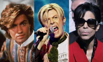 George'as Michaelis, Davidas Bowie, Prince'as