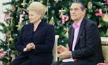 D. Grybauskaitė ir A. Kaušpėdas