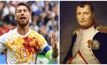 Sergio Ramosas ir Napoleonas Bonapartas
