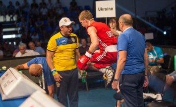 Ukrainos boksininkai iškovojo daugiausiai Europos čempionato aukso medalių