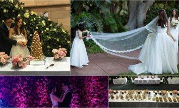 Natashos Lau ir Andreaso Wongo vestuvių akimirkos