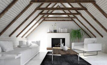 5 interjero dizainerės patarimai, kaip įsirengti butą mansardoje