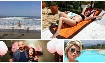 Erica Jennings ir Jurgis Didžiulis atostogauja Kolumbijoje