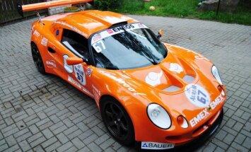 Gera dovana-Emex racing komandos Lotus bolidas