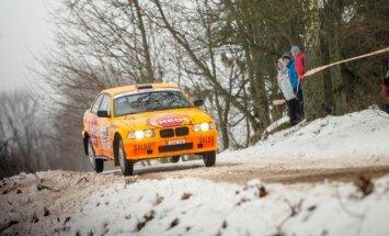 Halls Winter Rally vyks šį savaitgalį