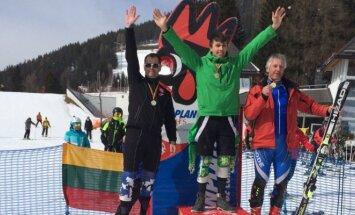 Kasparas Gudžius tapo čempionu