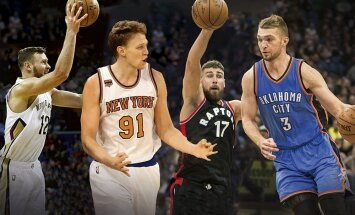NBA savaitėlė regio ritmu: D. Nowitzkio nesigailintis J. Valančiūnas ir įžaidėju tapęs D. Sabonis