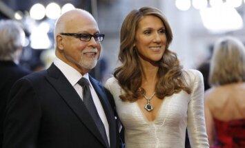 Celine Dion su vyru Rene