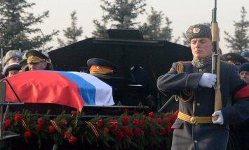 Kariškio laidojimo ceremonija Rusijoje