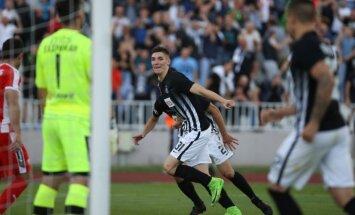 Belgrado Partizan futbolininkai