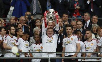 """Manchester United"" futbolininkų triumfas"