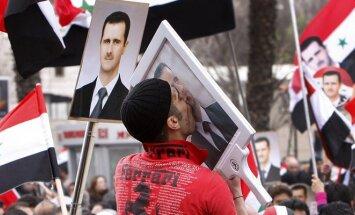 Basharo Assado rėmėjai