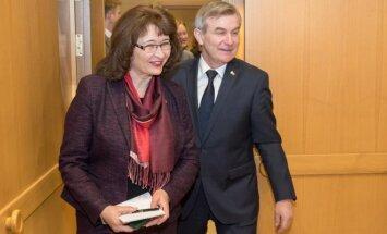 Rima Baškienė ir Viktoras Pranckietis