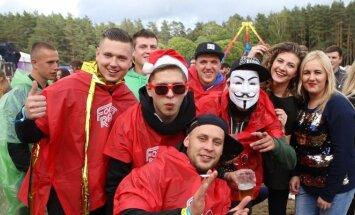 Summerburst festivalininkai