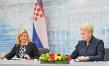 Kolinda Grabar-Kitarovič, Dalia Grybauskaitė