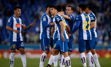 Espanyol futbolininkai