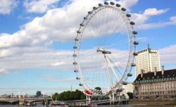 """Apžvalgos ratas  """"Londono akis"""""""