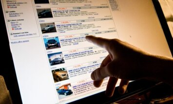 Parduodami automobiliai internete