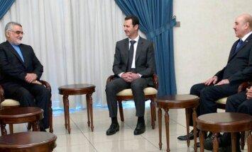 Basharas al-Assadas,  Alaeddinas Boroujerdi, Ali Mamlukas