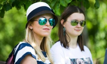 Rūta Mikelkevičiūtė su dukra Dominyka