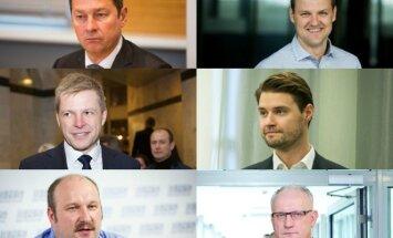 A. Zuokas, G. Paluckas, R. Šimašius, M. Majauskas, J. Panka, J. Pinskus