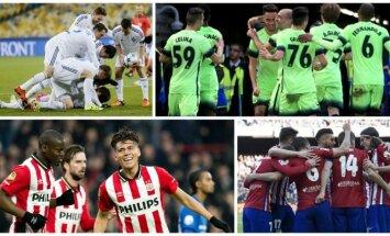 Kijevo Dinamo, Man City, PSV ir Madrido Atletico