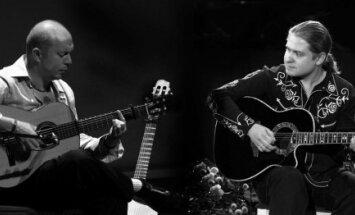 Džiazo gitarų duetas Romero & Roman (JAV, Rusija)