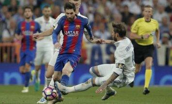 Lionelis Messi ir Sergio Ramosas
