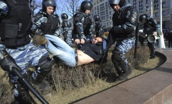 Protestai Rusijoje