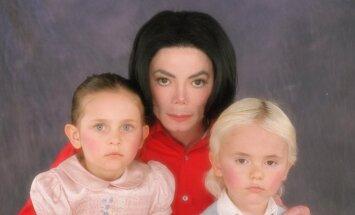 Michaelas Jacksonas su vaikais