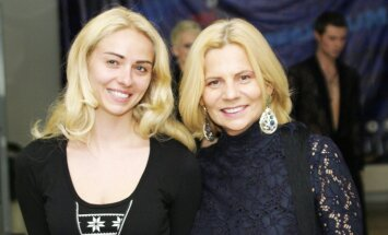 Irena Marozienė su dukra