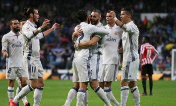 Madrido Real futbolininkai