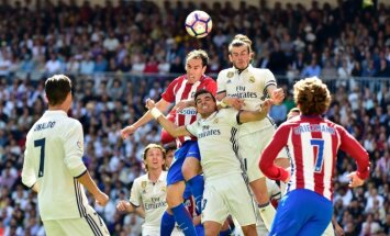 Madrido derbis: :Real - Atletico
