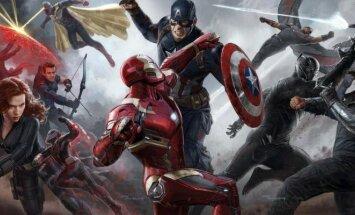 Kapitonas Amerika. Pilietinis karas