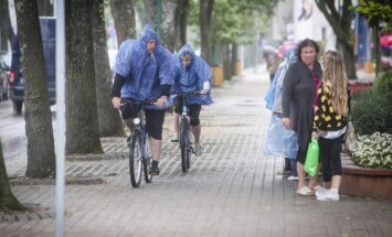 Lietus Palangoje