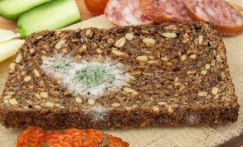Manėte, kad nupjovę pelėsį jau galite valgyti duoną? Gydytojai papasakojo, kas gali nutikti