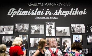 Adaukto Marcinkevičiaus parodos Optimistai ir skeptikai atidarymas