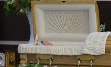 Atsisveikinimo su Žana Friske ceremonija