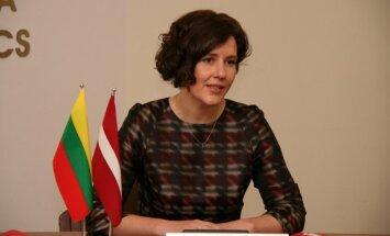 Rokas Masiulis ir Dana Reizniece-Ozola Rygoje pasirašė supratimo memorandumą